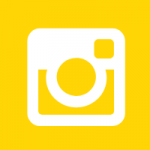 Ro Photographs Instagram Icon in Yellow