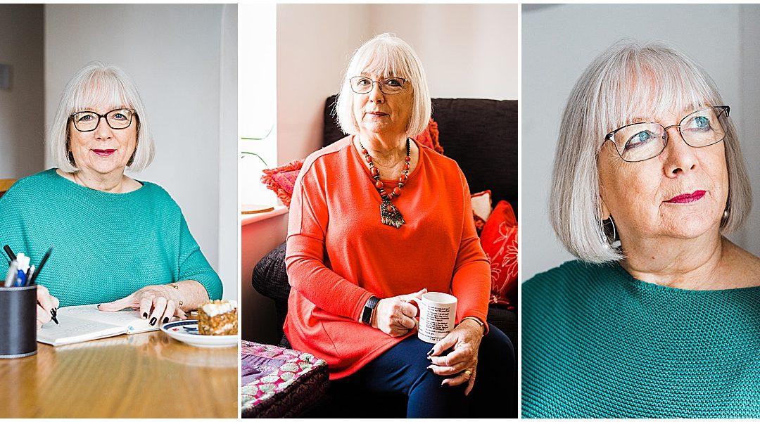 Creative Head Shots Birmingham | Poet Maggie Doyle